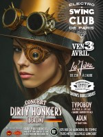 ELECTRO SWING CLUB – SPECIAL CONCERT DIRTY HONKERS