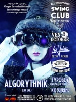 ELECTRONS SWING CLUB DE PARIS – ALGORYTHMIK
