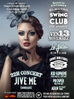 ELECTRO SWING CLUB DE PARIS – JIVE ME CONCERT