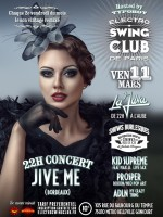 ELECTRO SWING CLUB DE PARIS – JIVE ME (Concert) – PROSPER – ADLN – KID SUPREME