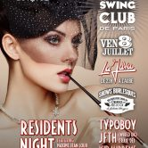 ELECTRO SWING CLUB DE PARIS – RESIDENTS NIGHT