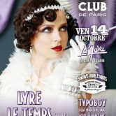 ELECTRO SWING CLUB – LIVE EDITION – LYRE LE TEMPS