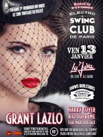 ELECTRO SWING CLUB DE PARIS – GRANT LAZLO – HARRY COVER