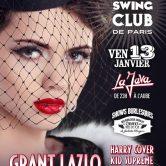 ELECTRO SWING CLUB DE PARIS – GRANT LAZLO – HARRY COVER
