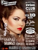 ELECTRO SWING CLUB DE PARIS – Chamad Shango – Dunya – Typoboy – Kid Supreme