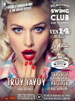 ELECTRO SWING CLUB DE PARIS – TROY SAVOY –