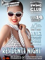 ELECTRO SWING CLUB – RESIDENTS NIGHT DERNIERE DE LA SAISON